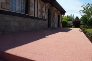 Affordable En Caux With Beton Color Pour Terrasse With Terrasse Bton Color