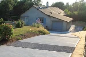 Descentes de garage : categorie – Les maçons du paysage