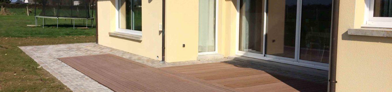 Pavage et terrasse bois